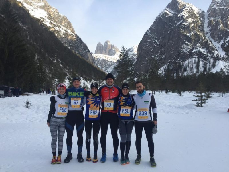 Cortina Winter night run